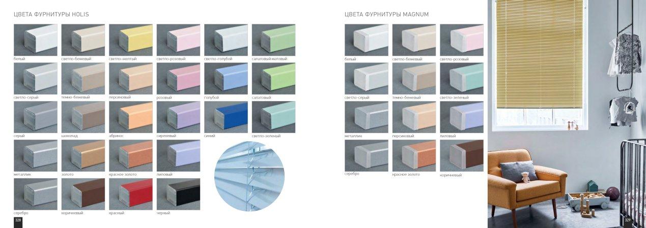 Горизонтальные жалюзи: алюминий